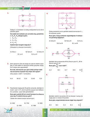 10. SINIF FİZİK SORU BANKASI (3)