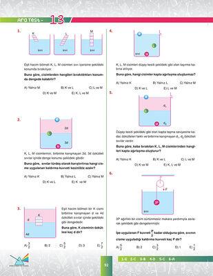 10. SINIF FİZİK SORU BANKASI (5)
