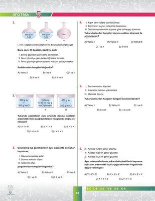 10. SINIF KİMYA SORU BANKASI (4)