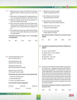 10. SINIF TÜRK DİLİ VE EDEBİYATI SORU BANKASI (3)