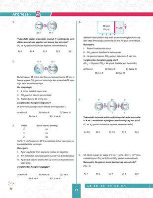 11. SINIF KİMYA SORU BANKASI (4)