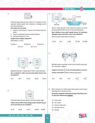 11. SINIF KİMYA SORU BANKASI (5)