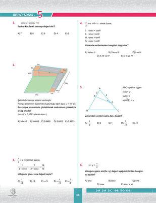11. SINIF MATEMATİK SORU BANKASI (4)