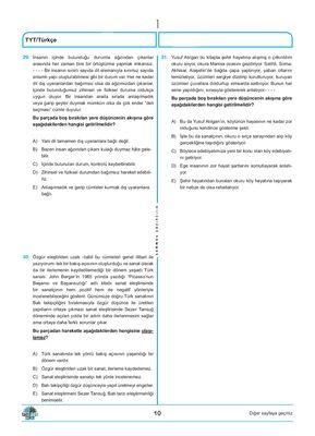 TYT KAZANMA REFLEKSİ 5 Lİ DENEME (5)